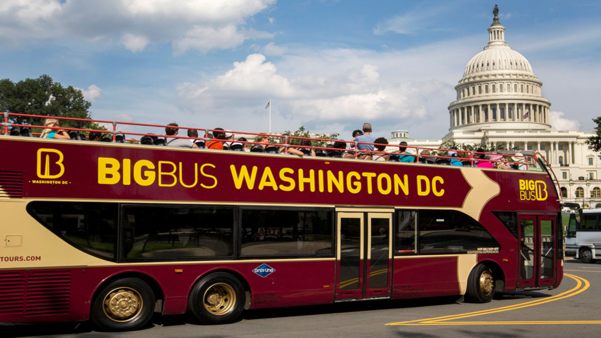 Big Bus Tours - Ticket Premium - Alojamientos en Washington D.C.